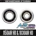"""""""Kattobi"""" Spool Bearing Kit - AIR HD CERAMIC - 【1150AIR HD & 1030AIR HD】 for 16 Metanium MGL,15 CALCUTTA CONQUEST 300,400series,"""