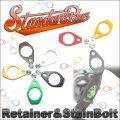 [Studio Composite] Retainer & stainless steel fixing screws set