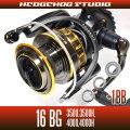 16BG 3500,3500H,4000,4000H用 MAX7BB Full Bearing Kit