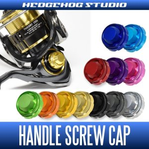 Photo1: 【HEDGEHOG STUDIO】Handle Screw Cap HSC-SD-B for DAIWA 17 THEORY