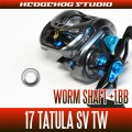 Worm Shaft +1BB Bearing Kit for 17 TATULA SV TW