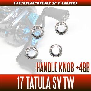 Photo2: Handle Knob +4BB Bearing Kit for 17 TATULA SV TW