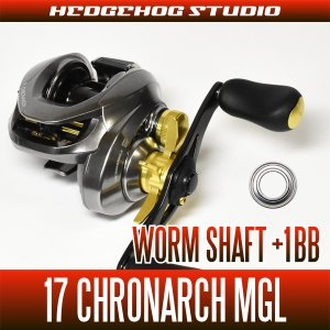 Photo1: [SHIMANO] 17 CHRONARCH MGL - Worm Shaft +1BB Bearing Kit