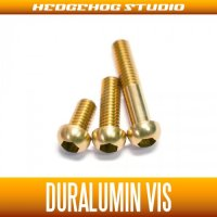 【DAIWA】 Duralumin Screw Set 5-8-13 【STEEZ・IS】 CHAMPAGNE GOLD