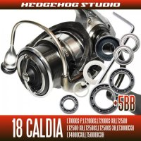 18 CALDIA LT1000S-P, LT2000S, LT2000S-XH, LT2500, LT2500-XH, LT2500S, LT2500S-XH, LT3000-CXH, LT4000-CXH, LT4000S-C, LT5000D-CXH, LT5000S-CXH Full Bearing Kit
