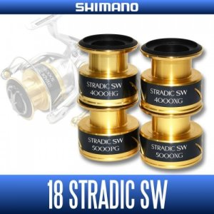 Photo1: [SHIMANO genuine product] 18 STRADIC SW Spare Spool(4000HG, 4000XG, 5000PG, 5000XG)