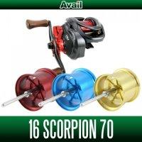 [Avail] SHIMANO Microcast Spool 16SCP7020RI for 16 Scorpion 70/71, CURADO 70/71 Series