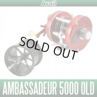 [Avail] ABU Microcast Spool AMB5030R-BB for Ambassadeur 5000 OLD (Ball Bearing Required) [BLACK]