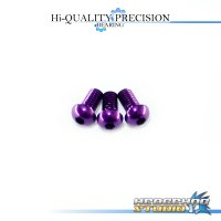 【SHIMANO】 Duralumin Screw Set 5-5-5 【ALD】 ROYAL PURPLE