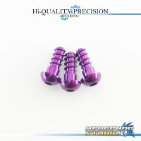 【DAIWA】 Duralumin Screw Set 6-6-6 【T3・BALLISTIC】 ROYAL PURPLE