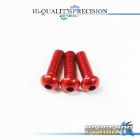 【DAIWA】 Duralumin Screw Set 8-8-8 【TD-Z】 RED