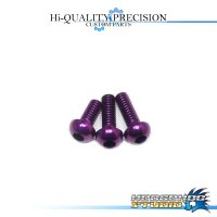 【SHIMANO】Duralumin Screw Set 5-6-6 【CHRONARCH E・CURADO E】 ROYAL PURPLE