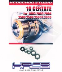 10 CERTATE 1003,1000,2004,2500,2506,2500R,3000 Full Bearing Kit 【HRCB】