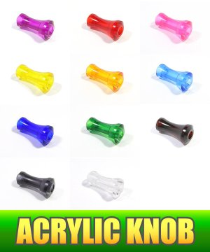 Photo1: [Avail] Acrylic Handle Knob 2 *HKAC