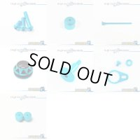 "【DAIWA】 STEEZ Dress-up Custom ""Full Complete Kit"" BLACK×SKY BLUE"