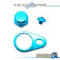 【SHIMANO】 Handle Lock Nut Set B-type 【M size】 SKY BLUE
