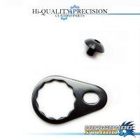 【DAIWA】 Handle Lock Retainer & Screw [M size] (No Nut) BLACK