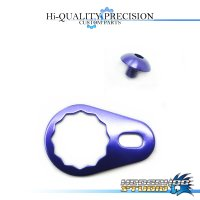 【DAIWA】 Handle Lock Retainer & Screw [M size] (No Nut) DEEP PURPLE