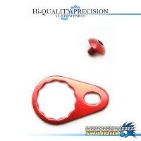 【DAIWA】 Handle Lock Retainer & Screw [M size] (No Nut) RED