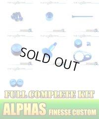"【DAIWA】 ALPHAS FINESSE CUSTOM Dress-up Custom ""Full Complete Kit"" Ver.3 SAPPHIRE BLUE"