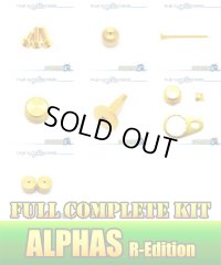 "【DAIWA】 ALPHAS R-Edition Dress-up Custom ""Full Complete Kit"" Ver.3 GOLD"