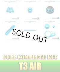 "【DAIWA】 T3 AIR Dress-up Custom ""Full Complete Kit"" BLACK×SKY BLUE"