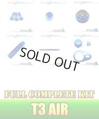 "【DAIWA】 T3 AIR Dress-up Custom ""Full Complete Kit"" BLACK×SAPPHIRE BLUE"