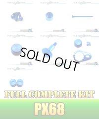 "【DAIWA】 PX68 Dress-up Custom ""Full Complete Kit"" Ver.3 SAPPHIRE BLUE"