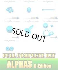 "【DAIWA】 ALPHAS R-Edition Dress-up Custom ""Full Complete Kit"" Ver.3 SKY BLUE"