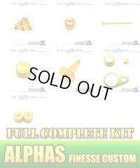 "【DAIWA】 ALPHAS FINESSE CUSTOM Dress-up Custom ""Full Complete Kit"" Ver.3 GOLD"