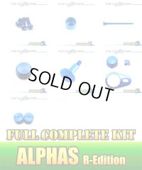 "【DAIWA】 ALPHAS R-Edition Dress-up Custom ""Full Complete Kit"" Ver.3 SAPPHIRE BLUE"
