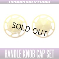 【Abu】 Handle Knob Cap Set 【L size】 Ver.2 Superior GOLD