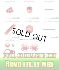 Revo LTX・LT・MGX・MGXtreme・ALT  Full Complete Kit Ver.4 RED