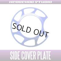 【ABU】Side Cover Plate 【Extreme】 LTX・MGX SAPPHIRE BLUE