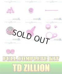 "【DAIWA】 TD ZILLION Dress-up Custom ""Full Complete Kit"" BLACK×PINK"