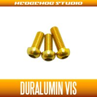 [DAIWA] Duralumin Screw Set 7-7-8 (ZILLION SV TW, TATULA SV TW/CT, morethan PE SV, ZILLION TWS) GOLD