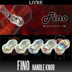 Photo1: [LIVRE] Fino Titanium Handle Knob *HKAL