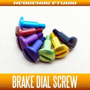 Photo1: [DAIWA] Brake Dial Screw TA【TATULA・morethan PE・ZILLION TW】