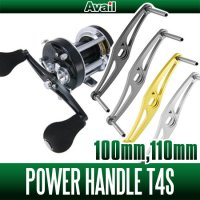 [Avail] Power Handle T4S for Abu, Daiwa *AVHADA