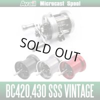 Avail 五十鈴 (ISUZU) NEW Microcast Spool BC4227R for BC420 SSS Vintage,BC430 SSS Vintage