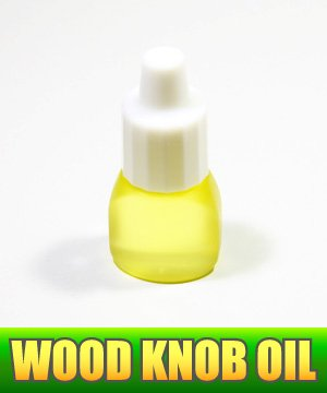 Photo1: Avail MAINTENANCE OIL for Wood Knob