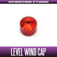 【Abu】 Level Wind Cap 【REV】 RED
