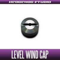 【Abu】 Level Wind Cap 【REV】 BLACK