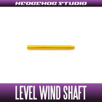 【Abu】 Level Wind Shaft 【LTX】 GOLD