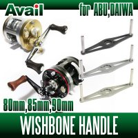 [Avail] Wishbone Handle for ABU, DAIWA (WB-AB-STA) *AVHADA