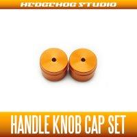 【DAIWA】 Handle Knob Cap 【S size】 ORANGE  - 2 pieces -