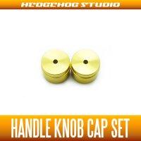 【DAIWA】 Handle Knob Cap 【S size】 CHAMPAGNE GOLD  - 2 pieces -