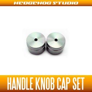 Photo1: 【DAIWA】 Handle Knob Cap 【S size】 GUNMETAL  - 2 pieces -
