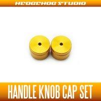 【DAIWA】 Handle Knob Cap 【S size】 GOLD  - 2 pieces -