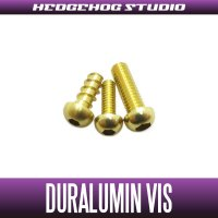 【Abu】 Duralumin Screw Set 5-6-8 【LTX】 CHAMPAGNE GOLD